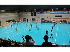 全国小学生ハンドボール大会(田辺中央体育館、同志社大学)